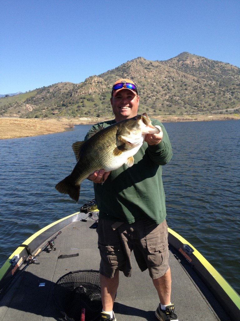 Lake kaweah professional angler for Lake kaweah fishing